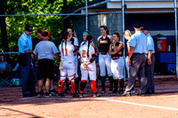 63rd District Championship Softball - Raceland vs Russell 05-23-