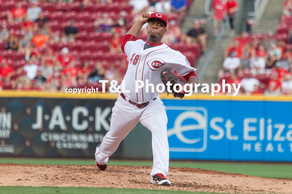 MLB - Cincinnati Reds vs Arizona Diamondbacks 07-23-2016