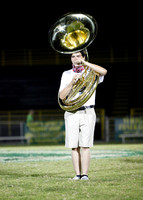 9-5-14 GC Band after game show @ GC vs. Fleming Co. Game